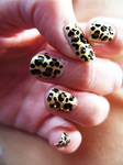 Studded Leopard