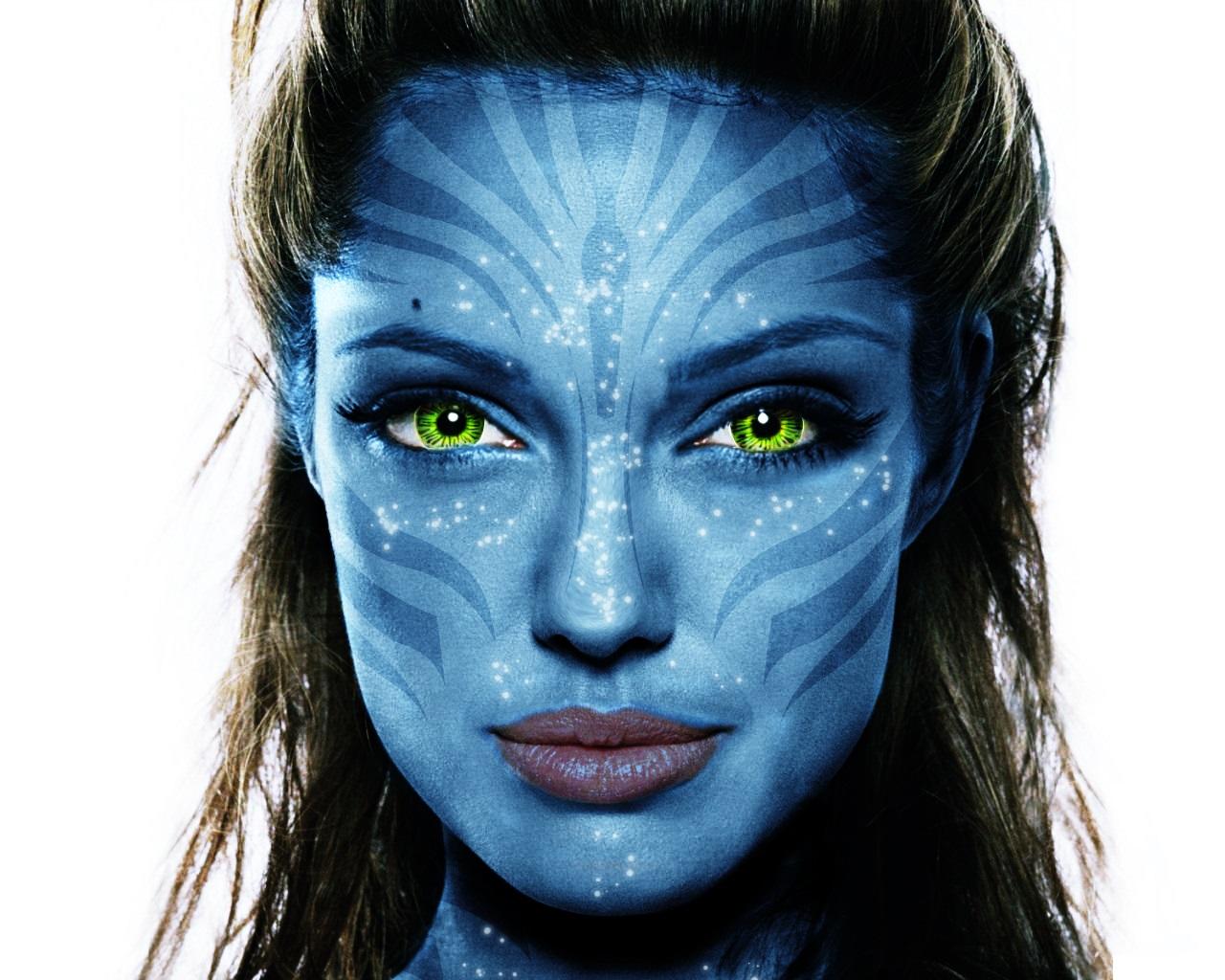Navi Avatar Angelina Jolie By Mad Midna