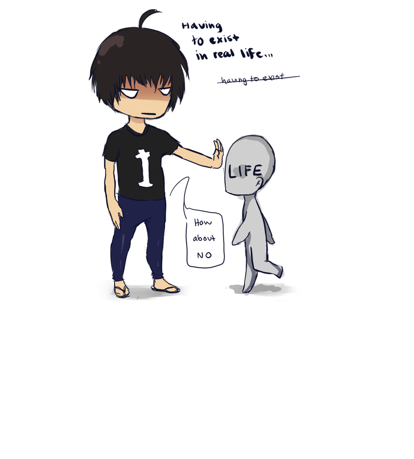 Real life. by Chowaa