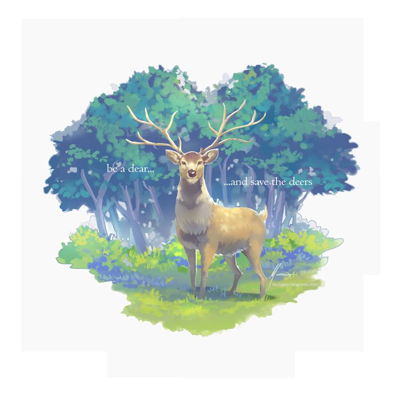 .dear deer by ml-11mk