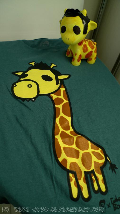Gabe Bondoc Giraffe by kiki-bozu