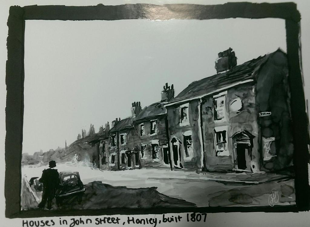 Industrial era housing study by SpoonNib