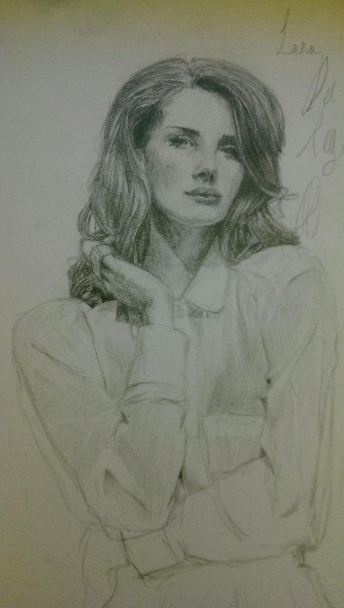 Lana Del Rey by SpoonNib
