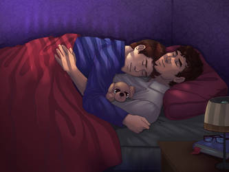 Early Morning Cuddles by ass-butt