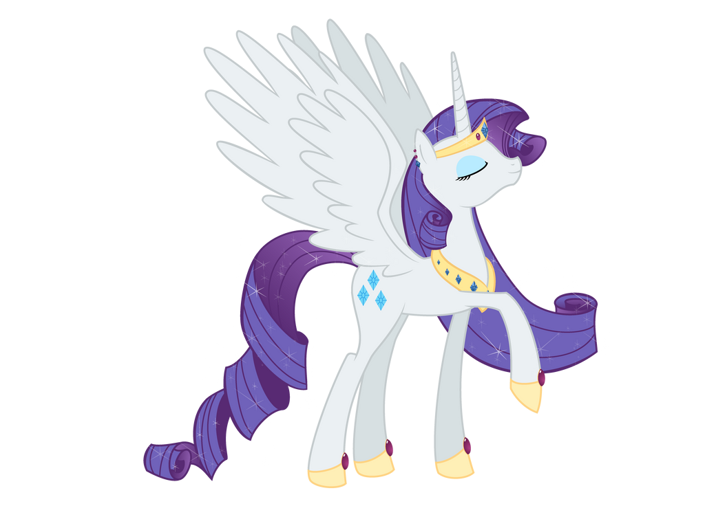 Princess Rarity by Nianara