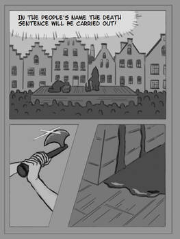 Creating a Graphic Novel - Chapter 1 Page 1 V.1