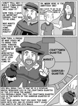 Making Manga Page 17 V.1 - Harbour City Merchants