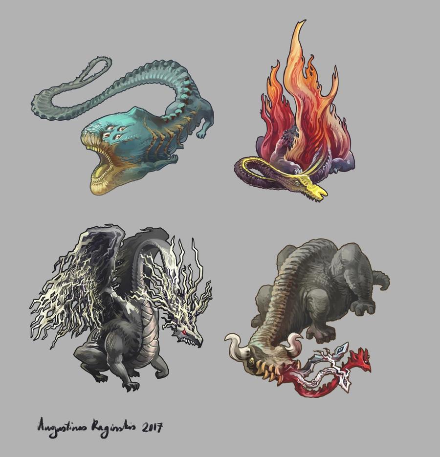 ice elemental dragons - photo #41
