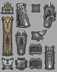 Tombstones by AugustinasRaginskis