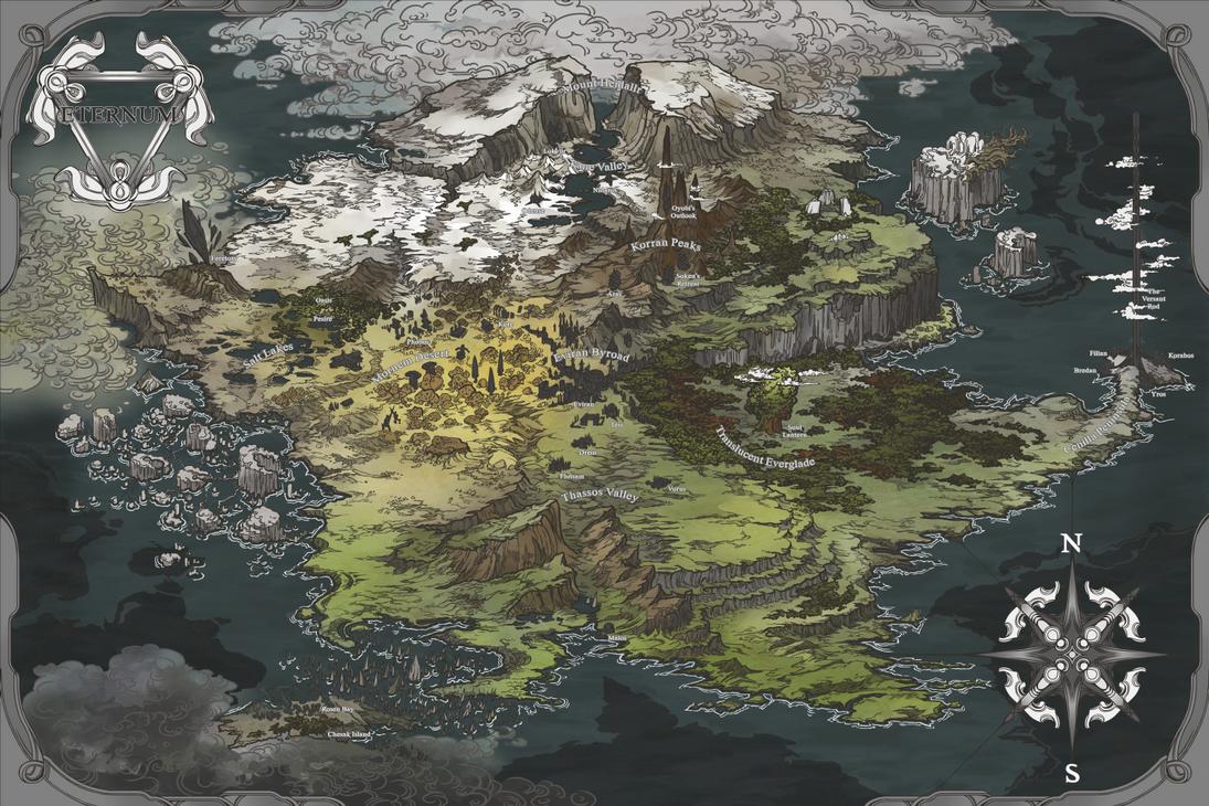 Eternum Map by AugustinasRaginskis