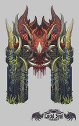 Dragon Gate by AugustinasRaginskis