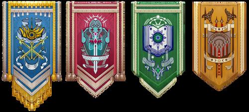 Valen Banners by AugustinasRaginskis