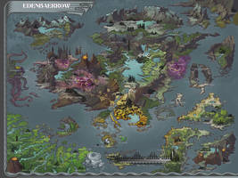 Edenbaerrow Map by AugustinasRaginskis