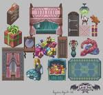 Pixelated Toy Room