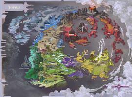 Map of Aereis by AugustinasRaginskis