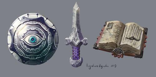 Stone Sword by AugustinasRaginskis