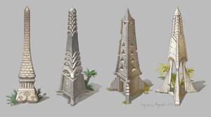 Obelisks by AugustinasRaginskis