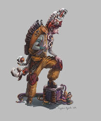 Dream Mechanic by AugustinasRaginskis