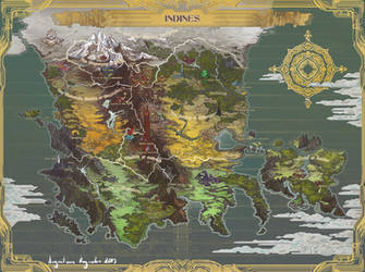 Map of Indines by AugustinasRaginskis
