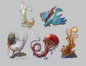 Funky Sea Animals