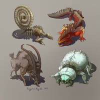 Creatures of the Desert