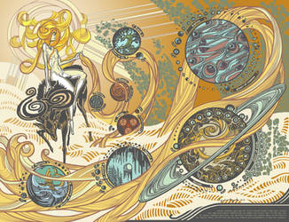 Creation of the Solar System by AugustinasRaginskis