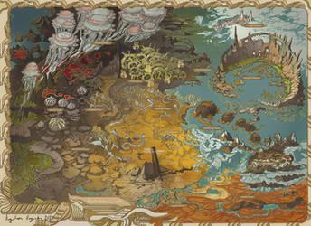 Forbidden Lands Map by AugustinasRaginskis