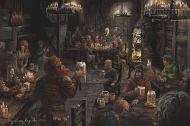The Tavern by AugustinasRaginskis