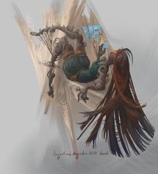 The Webs by AugustinasRaginskis