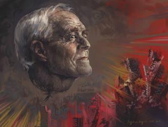 Old Man of Destruction by AugustinasRaginskis