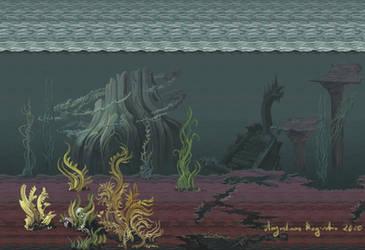 Pixel Sea by AugustinasRaginskis