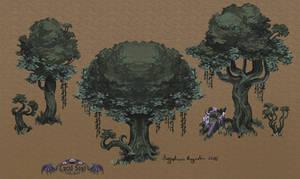 Pixel Trees Mayhaps?