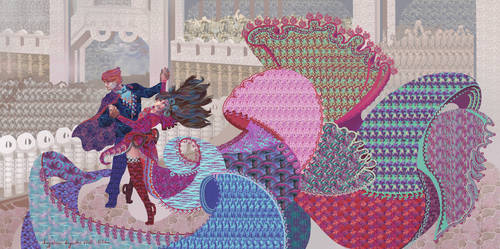 Stereogram Dance by AugustinasRaginskis