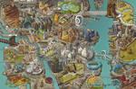 Megalopolis Map