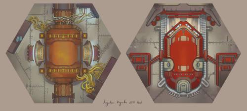 Reactor and Escape Pod