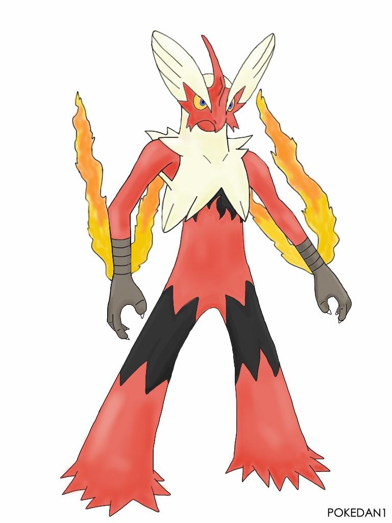 Mega blaziken pokemon x and y by pokedan1 on deviantart - Pokemon mega evolution blaziken ...
