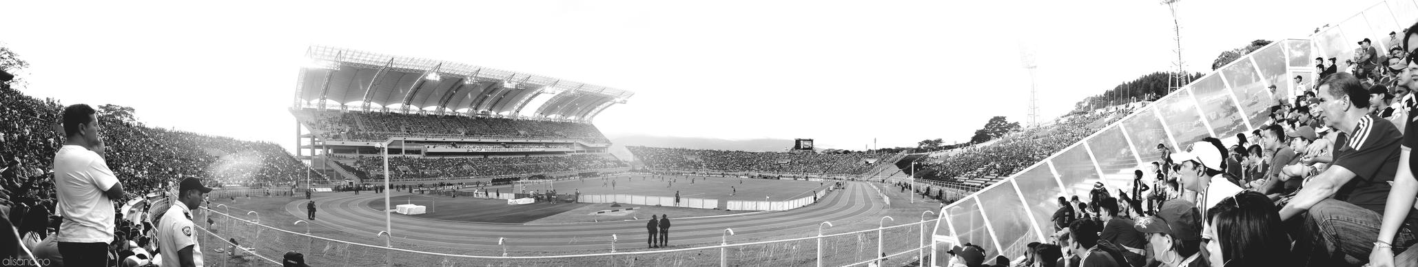 Panoramica Estadio Polideportivo Pueblo Nuevo by ZiriusB