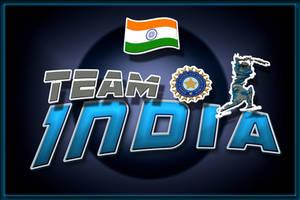 Sport Theme Team India by abhinendrachauhan