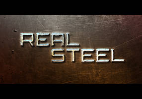 Real steel by abhinendrachauhan