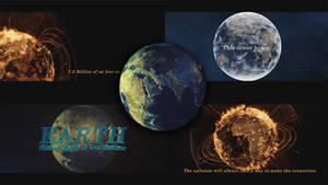 Planet earth Digital Art by abhinendrachauhan