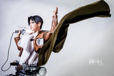 Shingeki No Kyoujin-Rivaille by josephlowphotography
