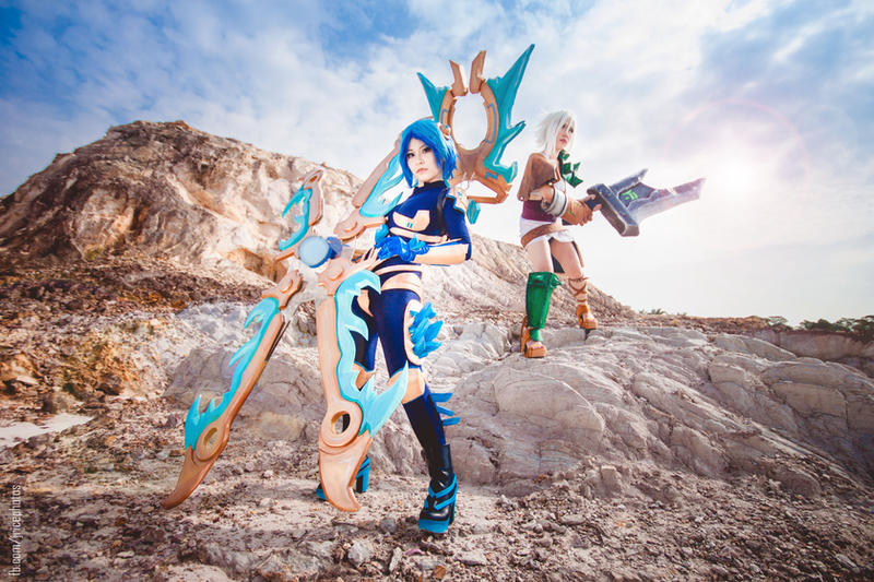 League of Legends - Irelia Riven by josephlowphotography