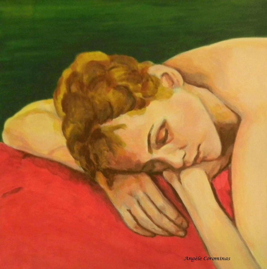 Yana endormie by AngeleCorominas