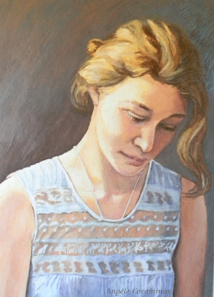 Jeune fille by AngeleCorominas