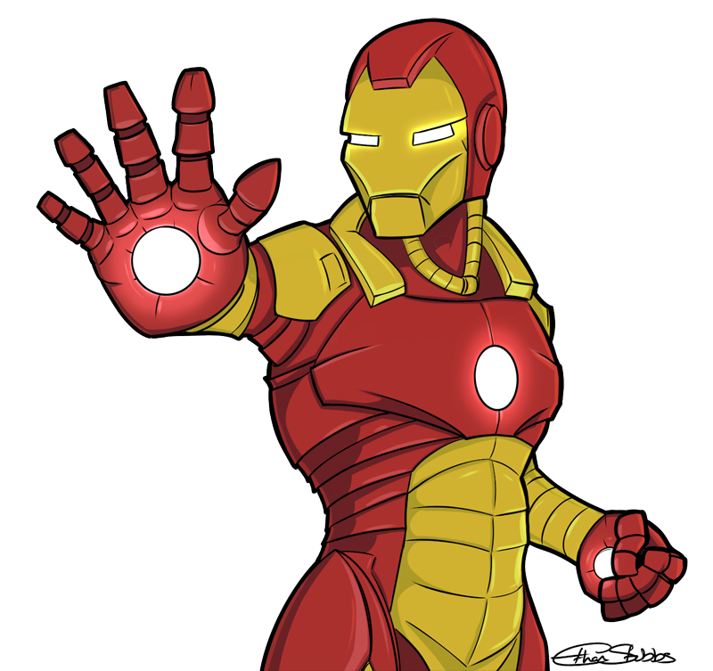 Iron Man by EStubbs