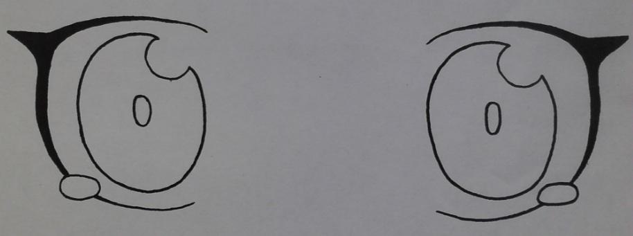 Anime Eyes Sideways Anime Eyes by