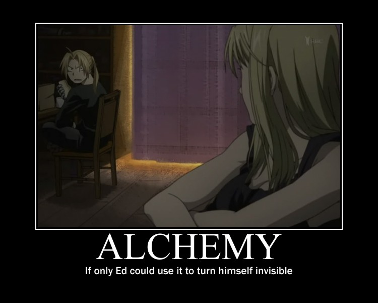FMAB Alchemy Cant Make You Invisible By AngelofAlchemy On - 42 awkward moments ever