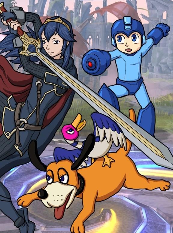 Smash Bros by Erk-kun