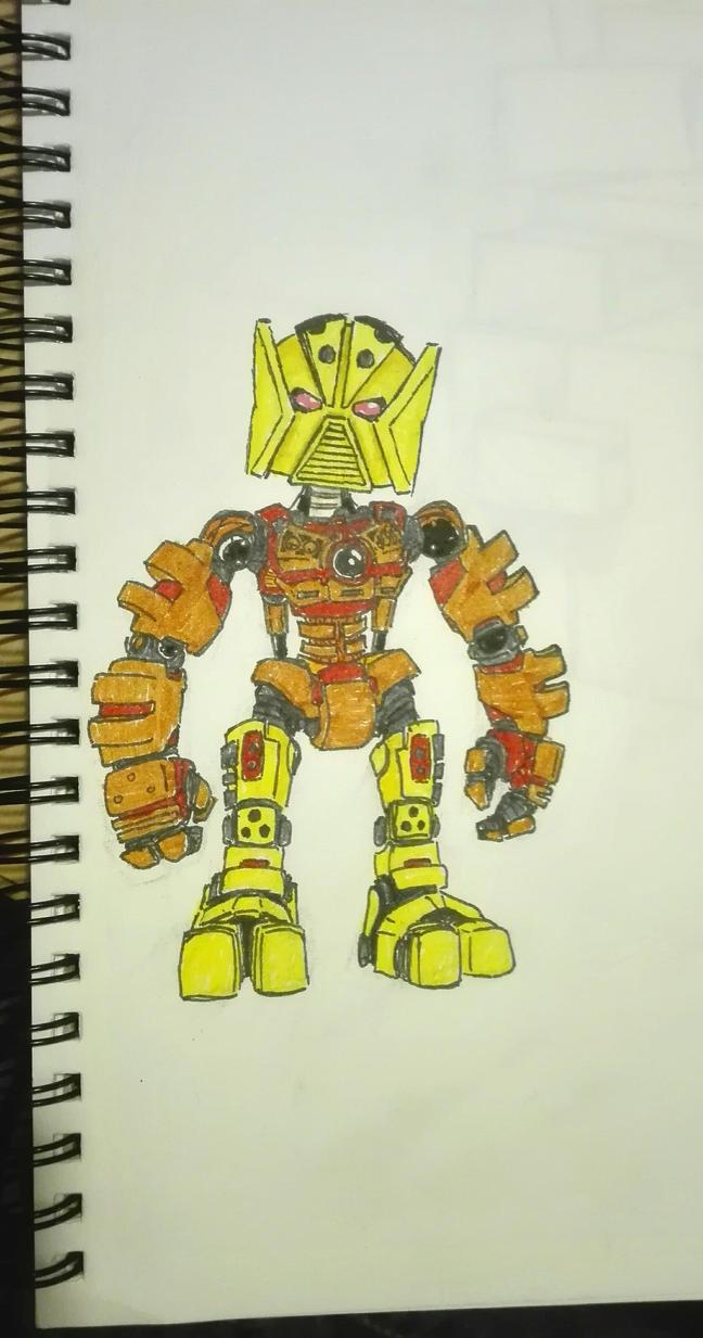 Matoran drawing by Shockwave999