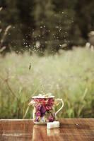 tea drinking by leanlean